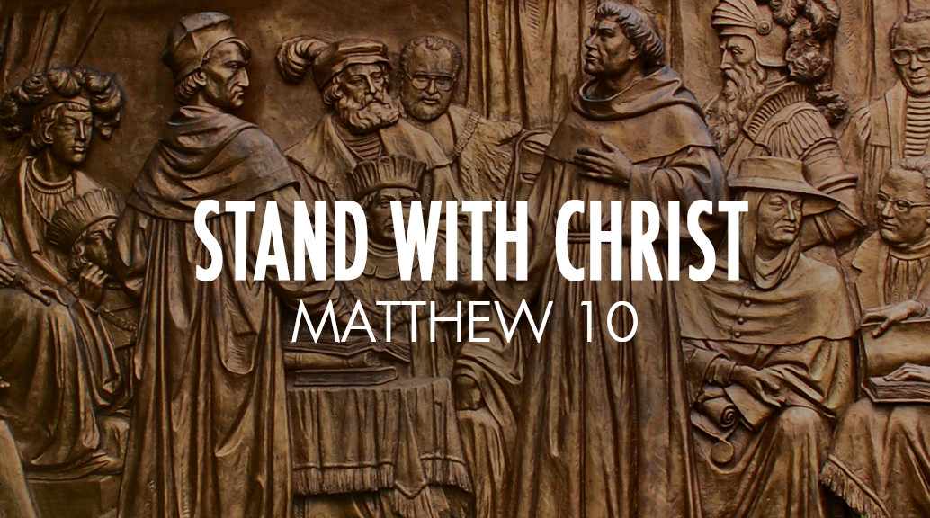 Stand With Christ | Roanoke Valley Bible Church